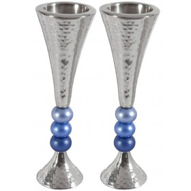 Candlesticks + Balls - Blue