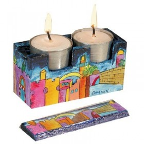 Travel Candlesticks - Jerusalem