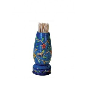 Painted Toothpick Stand - Oriental