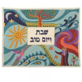 Hand Embroidered Challah Cover- The Creation