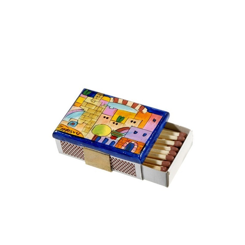 Match Box Holder - Small - Jerusalem