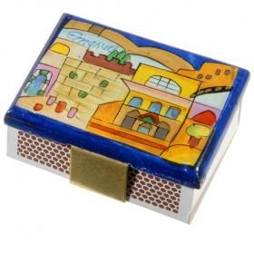 Porte-boîte d'allumettes - Petit - Jérusalem
