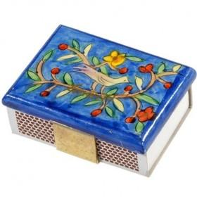 Match Box Holder - Small - Oriental