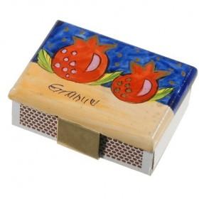 Match Box Holder - Small - Pomegranate