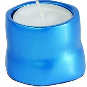 Single T-Light Holder - Turquoise