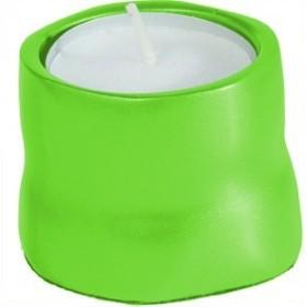 Single T-Light Holder - Green