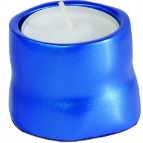 Single T-Light Holder - Blue