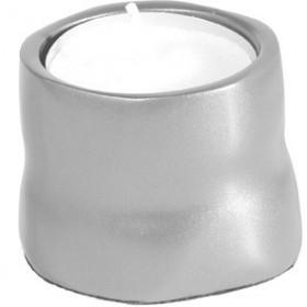 Single T-Light Holder - Aluminium Matt