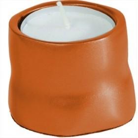 Single T- Light Holder - Orange