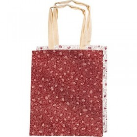 Simple Bag - Red/White