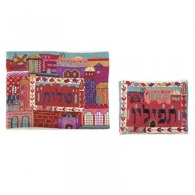 Tallit Bag - Hand Embroidered - Multicolor