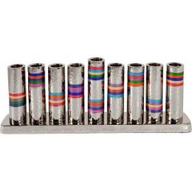Hanukkah Menorah - Rings - Multicolor