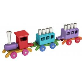 Hanukkah Menorah - Train - Multicolor