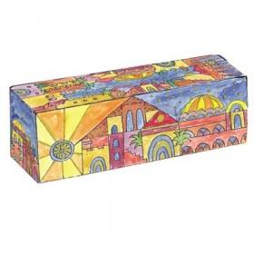 Travel Hanukkah Menorah - Jerusalem Oriental