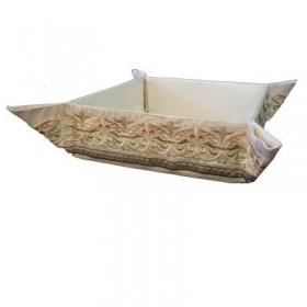 Folding Basket + Embroidery - Oriental Bright