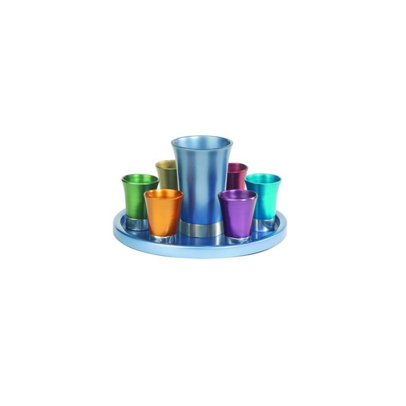 Kiddush Set - Multicolor