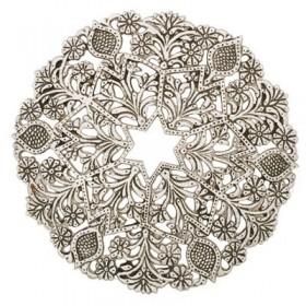Aluminium Trivet - Magen David
