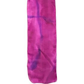 Painted Silk Scarf - Purple