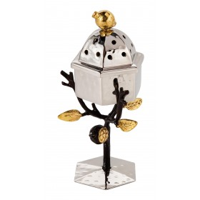 Spice Box - Stainless Steel - Pomegranates