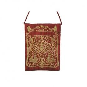 Passport Bag - Magen David - Red