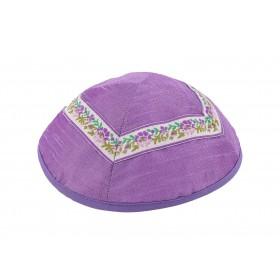 Kippah - Different Fabrics-purples