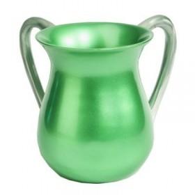 Netilat Yadayim Cup - Aluminium - Green