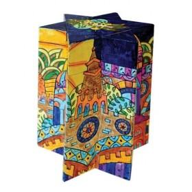 Tzedakah Box - Star of David - Jerusalem Oriental