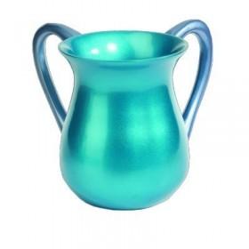 Netilat Yadayim Cup - Aluminium - Turquoise