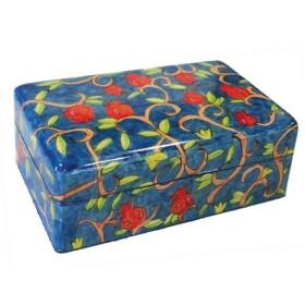 Large Jewelry Box - Pomegranate