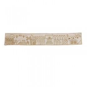 Hand Embroidered Atara - Jerusalem Gold