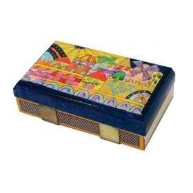 Match Box Holder - Kitchen Size - Oriental Jerusalem