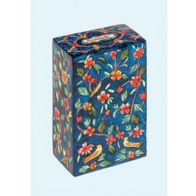 Rectangular Tzedakah Box - Oriental