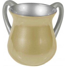 Netilat Yadayim Cup - Special Coating - Pearl