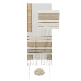 Tallit - Different Fabrics-browns