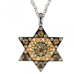 Necklace - Magen David - Gold