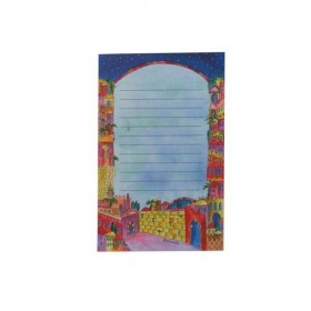 Notebook - Small + Magnet- Jerusalem