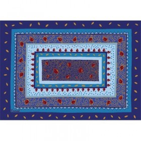 Printed Placemat - Blue