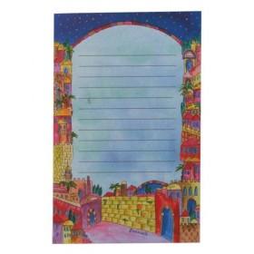 Notebook - Large + Magnet- Jerusalem