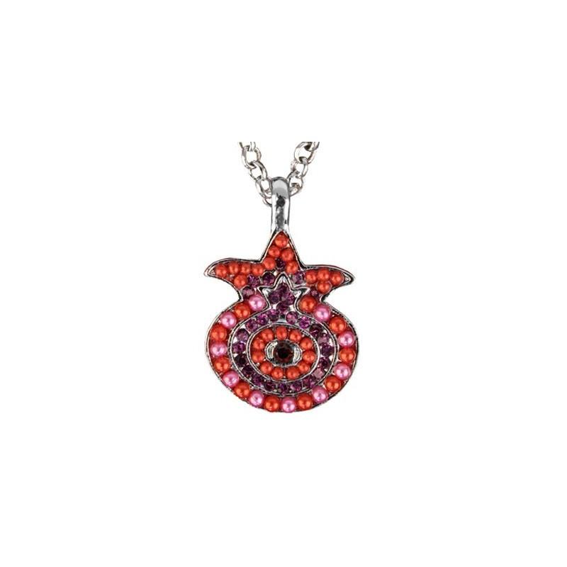 Necklace - Pomegranate - Maroon