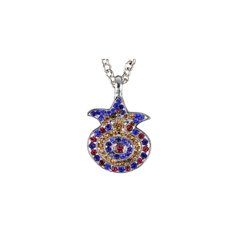Necklace - Pomegranate - Multicolor