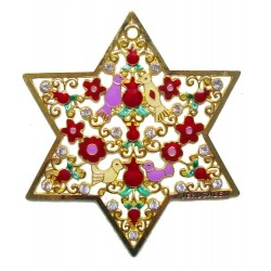 Tallit Set Pomegranate Purple