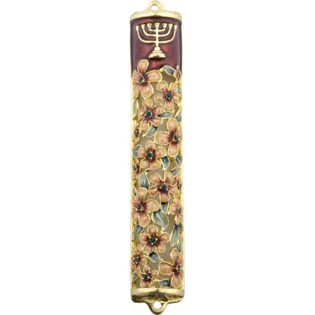 Mezuzah Metal Pewter Finish